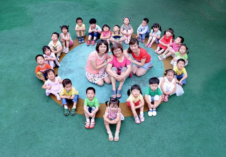 成都幼儿园创意集体照造型攻略(图)